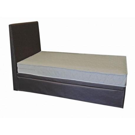 Łóżko z dostawką metalowe