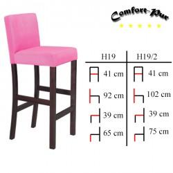 Krzesło barowe - Hoker H19, H19/2