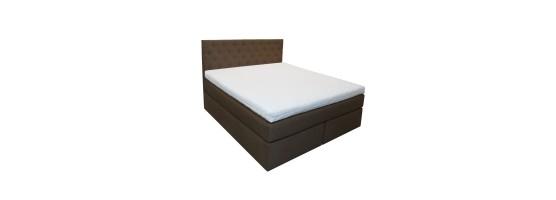 Łóżko Tapicerowane Kontynentalne