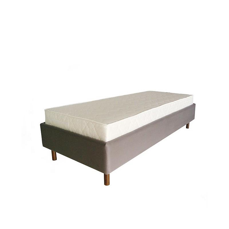 Łóżko z listwami sprężynującymi