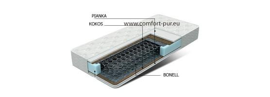 Materac z  wkładem kokosowym | Comfort-Pur