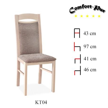 łóżka hotelowe Wyposażenie restauracji Krzesło KT04