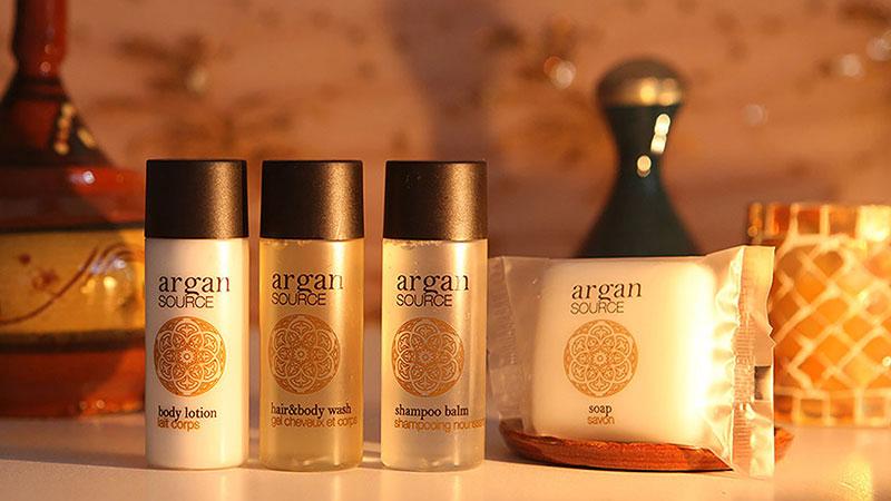 Włoskie kosmetyki hotelowe